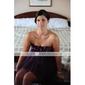 ORVA - kjole til bryllupsfest eller brudepige i satin og tyl