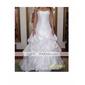 nylon / net jupons de mariage rez-longueur (0061-18)