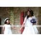 fleur de papier mariée mariage casque / Garland
