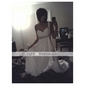 TS Couture Formal Evening / Military Ball Dress - White Plus Sizes / Petite Sheath/Column One Shoulder / Sweetheart Sweep/Brush TrainChiffon /