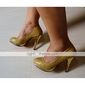 Cloth Upper Stiletto Heel Wedding Pumps More Colors Available