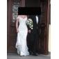Lanting Bride® Trumpet / Mermaid Petite / Plus Sizes Wedding Dress - Classic & Timeless / Elegant & LuxuriousTwo-In-One Wedding Dresses /