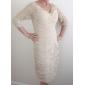 HENYE - Kleid für die Brautmutter aus Chiffon und Spitze