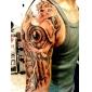 coil-artesanal triplo em aço tatuagem shader metralhadora e liner