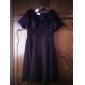a-line V-Ausschnitt knielangen T-Shirt Spitzen Chiffon / Mutter der Braut Kleid