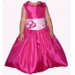 Lanting Bride ® A-line / Princess Floor-length Flower Girl Dress - Taffeta Sleeveless Queen Anne / Straps withBow(s)