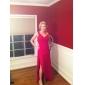 MARIAM - Kleid für Abendveranstaltung aus Chiffon und Satin
