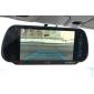 7 pouces rétroviseur de voiture avec le bluetooth, à double entrée vidéo, de caméra de recul (szc6398)