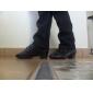 konstläder övre dansskor balsal latinska skor för män och barn