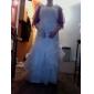 halv ärm organza speciellt tillfälle kväll jacka / bröllop wrap bolero axelryckning