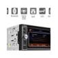Autoradio DVD 6.2 pouces / GPS / Bluetooth / Fonction TV / Radio RDS