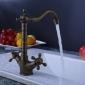 classic verchromt Messing Waschbecken Wasserhahn