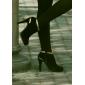 moda stiletto botas de camurça calcanhar tornozelo sapatos femininos (mais cores)
