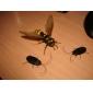 nya soldrivna kackerlacka (svart)