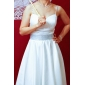 Princess brudekjoler 2013, lang stroppeløs i sateng med A-linje