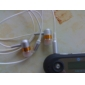 Ecouteurs Stéréo Intra-auriculaires - Orange