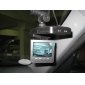 2,5 pouces boîte de DVR / voiture voiture noire avec 6 LED détection de mouvement des lumières