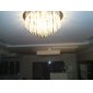 Modern Crystal Chandelier with 12 Lights