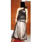 AISCHA - Kleid für Abendveranstaltung aus Chiffon und Satin