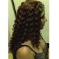 sin tapa larga de grado superior de calidad sintética rizada peluca de pelo colores disponibles múltiples
