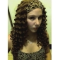 Capless Long Top Grade Quality Synthetic Curly Hair Wig Multiple Colors Available