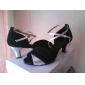 Ballroom Practice Dance Shoes Satin Upper Latin Dance Shoes for Women More Colors