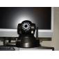 Wanscam® Videocamera di sorveglianza IP, con controllo angolare, rilevamento di movimento (visione notturna a IR, free DDNS)