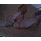 satinato superiore tacco alto scarpe da ballo latino scarpe da ballo latino per le donne più colori