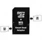 Dual MicroSD to MS Pro Duo Memory Card Adapter (Black)