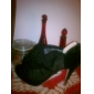dentelle supérieure talon aiguille / plateforme avec des volants chaussures de mariage plus les couleurs disponibles