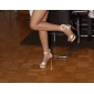 Sparkling Glitter Upper Stiletto Heel Pumps / Sandals With Rhinestone Wedding / Party Shoes