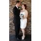 URANIA - שמלת חתונה מ- טפטה עם כורכת