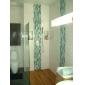 Pommeaux de Douche Sprinkle®  ,  Moderne  with  Chrome 1 poignée 4 trous  ,  Fonctionnalité  for Montage mural