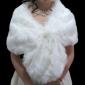 Kunstpelz Hochzeit Schal