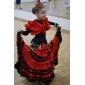 satin övre dansskor balsal latinska skor för kvinnor / barn fler färger