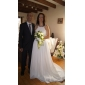 Lanting Bride® Trapèze Petites Tailles / Grandes Tailles Robe de Mariage - Classique & Intemporel / Chic & Moderne Traîne Brosse Bijoux