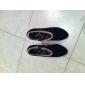 Calçados Femininos - Botas - Botas da Moda - Salto Agulha - Preto / Vermelho / Cinza - Camursa - Social