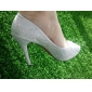 Satin Upper Stiletto Heel Pumps With Rhinestone Wedding/ Party Shoes.More Colors Available