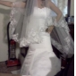1 Layer Cathedral Length Wedding Veil 600cm length