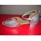 konstläder / mousserande glitter övre dansskor balsal latinska skor för kvinnor / barn fler färger