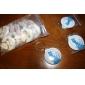 Plastic Favoruri Keychain-12 Piece / Set Brelocuri Temă Basme Personalizat Alb / Roz