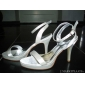 Women's Wedding Shoes Heels Sandals Wedding Champagne/Ivory
