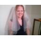 à deux vitesses voile de mariage coude avec à talons