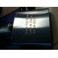gift groomsman gepersonaliseerde metalen 5-oz fles - monogram