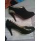 estilete de la moda botines de ante de tacón zapatos de las mujeres (más colores)