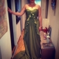 TOMMA - kjole til kveld i Chiffon