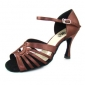 anpassa prestanda dansskor konstläder övre latinska skor för kvinnor