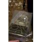 """keychain engagment anel com a caixa de presente e """"para você"""" tag"""