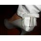 Satin Stiletto haut talon pompes / peep toe avec des chaussures de mariage bowknot couleurs plus disponibles