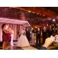 Haine Bal Fără Bretele Lungime Podea Satin Rochie de mireasă cu Mărgele Aplică de LAN TING BRIDE®